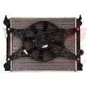 Radiatorius su ventiliatorium (MICROCAR : M.GO. M8 - LIGIER DUE FIRSTT)